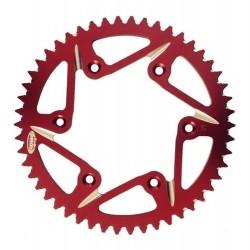 Coroa De Aluminio Corona 50d Crf 230 250 450 Xr 400 Vermelha
