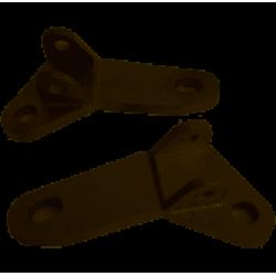 Suporte Pedaleira Amx Curto Elevado Crf 250f
